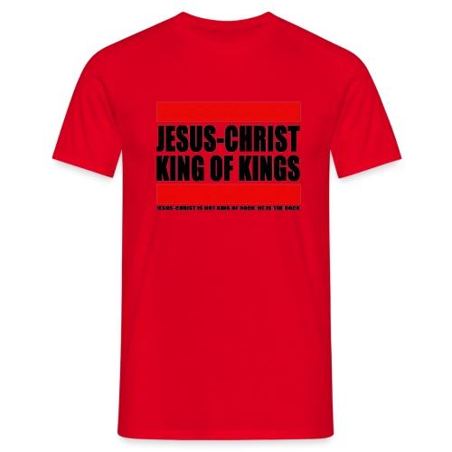 Jesus Christ King of kings 2 - T-shirt Homme