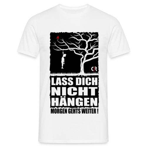 Hängen - schwarz - Männer T-Shirt