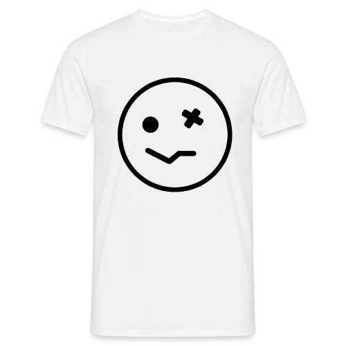 Wasted Smiley face - Men's T-Shirt