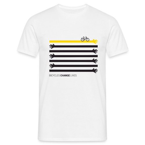 BCL Black Hands One Yellow - Men's T-Shirt