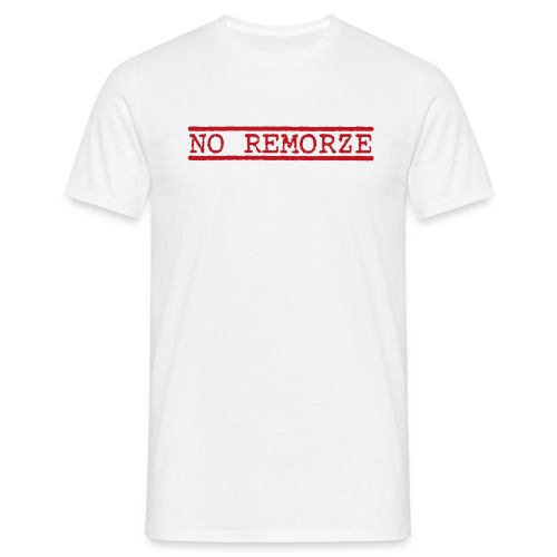 No Remorze RED - Männer T-Shirt