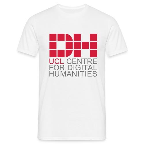 DH UCL captioned remix - Men's T-Shirt