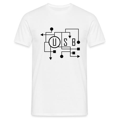 USB - T-shirt Homme