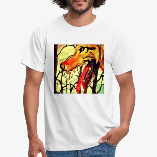 The wolf at the door - Men's T-Shirt