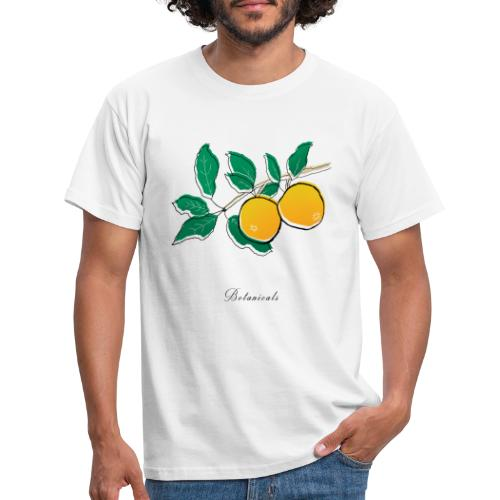 Disegno pianta di arance - Maglietta da uomo