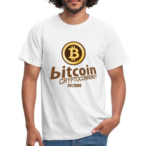 Bitcoin Cryptocurrency - Mannen T-shirt