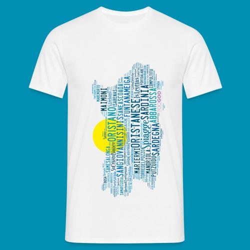 Spiagge Oristano png - Maglietta da uomo