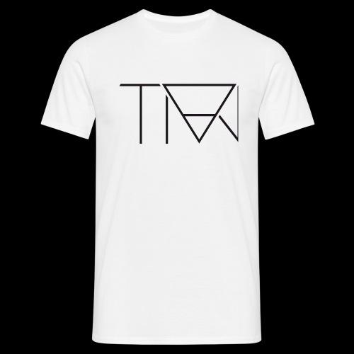 TIAJ Schrift - Männer T-Shirt