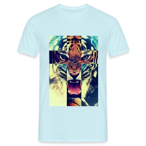 TijgerKruis jpg - Mannen T-shirt