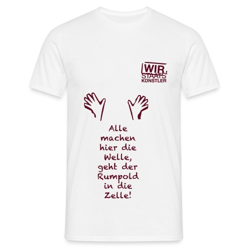 rumpold optimal 1c - Männer T-Shirt
