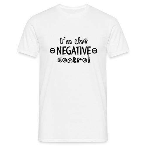 negative control - Men's T-Shirt
