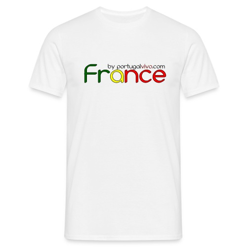 France Color Portugal2 - T-shirt Homme