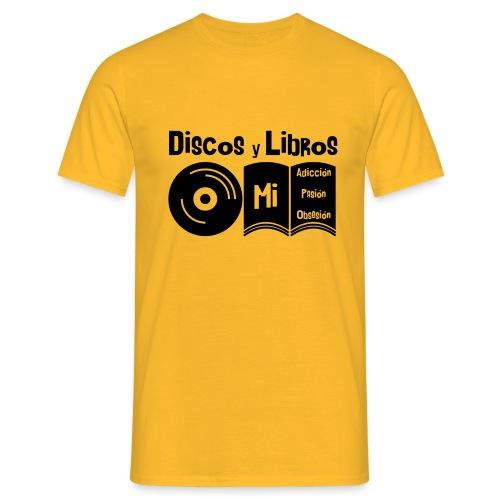 Discos y Libros - Camiseta hombre