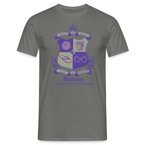 Scudo d Arme Dudeismo - Maglietta da uomo