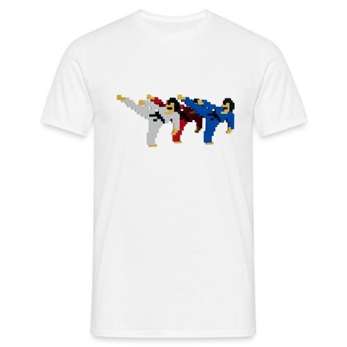 8 bit trip ninjas 2 - Men's T-Shirt