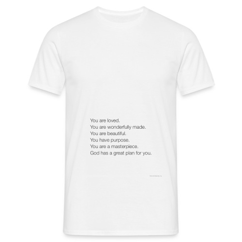 God has a plan for you - Men's T-Shirt