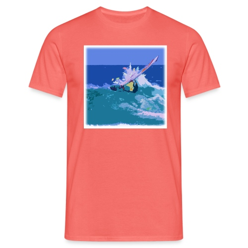 windsurf animals 1 - Miesten t-paita