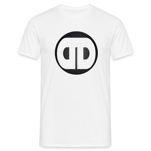 DDz Logo Honeycomb - No Text - Men's T-Shirt