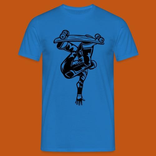 Skater / Skateboarder 03_schwarz - Männer T-Shirt