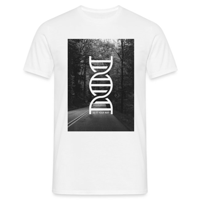 Fotoprint DNA Straße