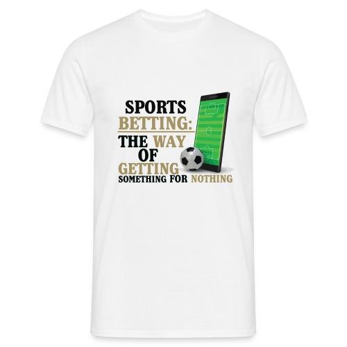 Sportwetten Design 7 - Männer T-Shirt