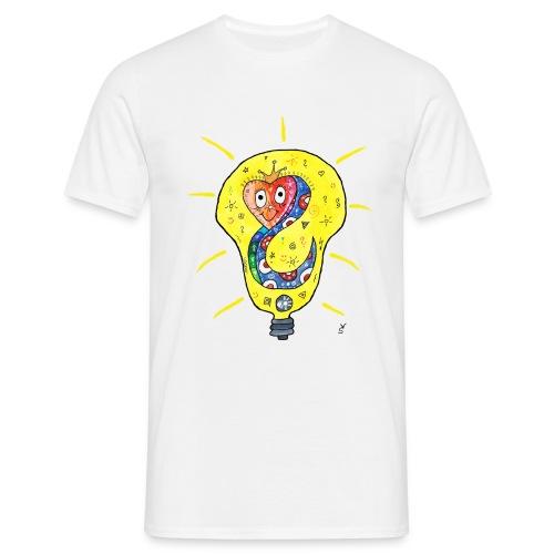 Happy Questionsnake - Männer T-Shirt