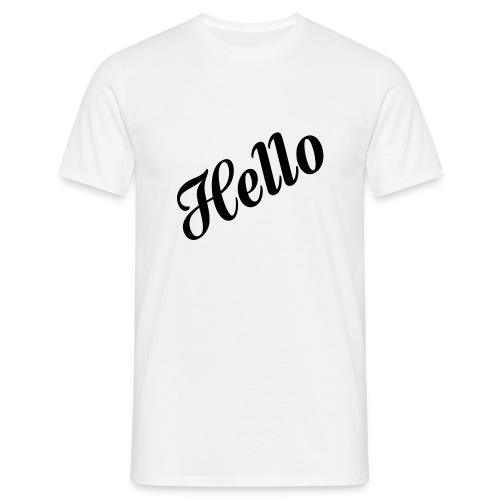 HELLO - Männer T-Shirt