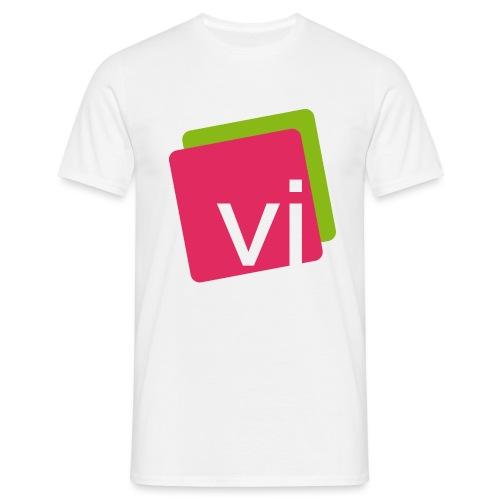 visocial Logo - Männer T-Shirt