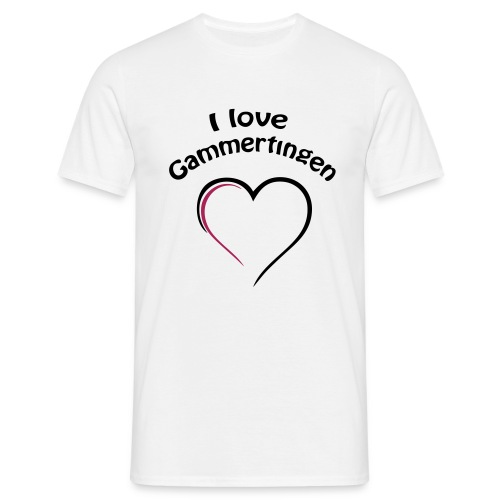 i love gammertingen - Männer T-Shirt