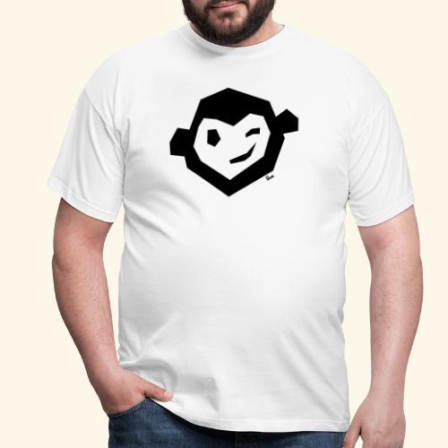 Uwe Kopf mono - Männer T-Shirt