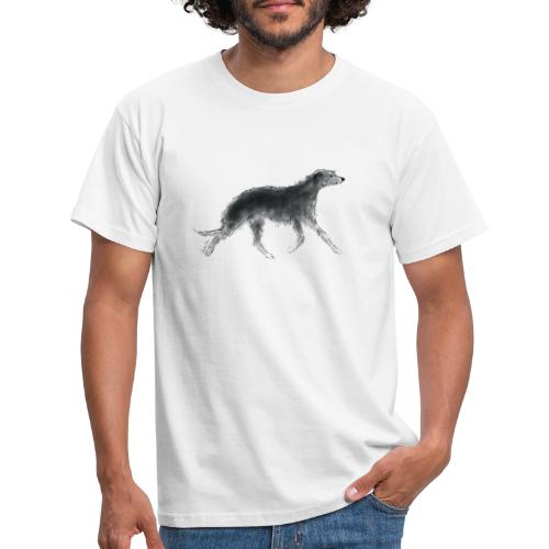 Deerhound in Aquarell - Männer T-Shirt