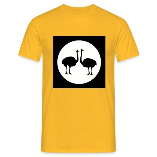 Strauß - Männer T-Shirt