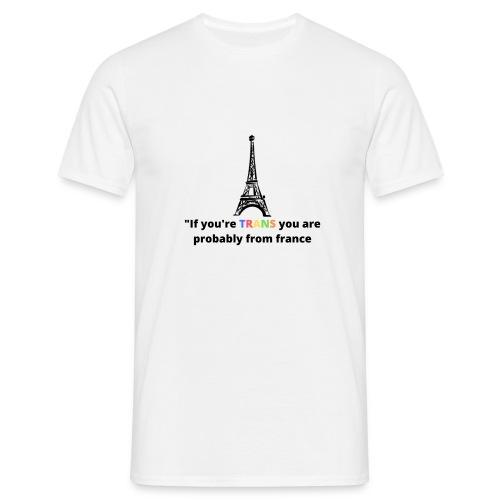 Slogan - Black Heading - Herre-T-shirt
