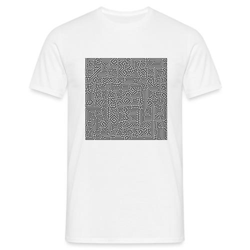 Maze - Männer T-Shirt