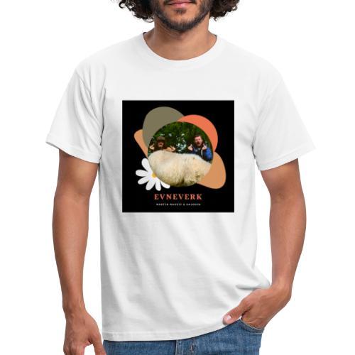 Evneverk Sheep Design - T-skjorte for menn