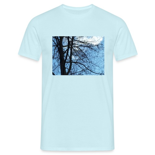 Baum im Frühling - Männer T-Shirt
