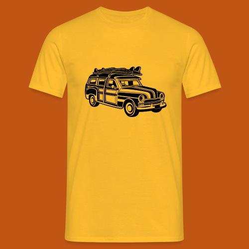 Chevy Cadilac Woodie / Oldtimer Kombi 01_schwarz - Männer T-Shirt