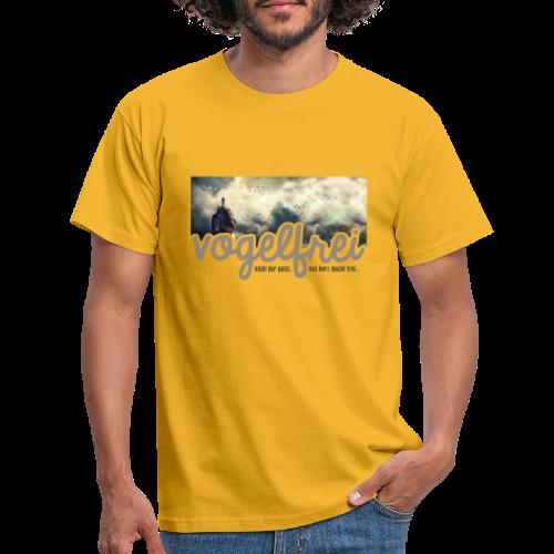 geweihbär Vogelfrei 3 - Männer T-Shirt