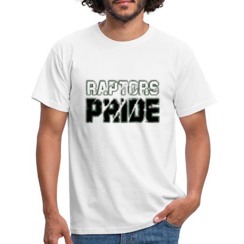 Raptors Pride - weiß/schwarz - Männer T-Shirt