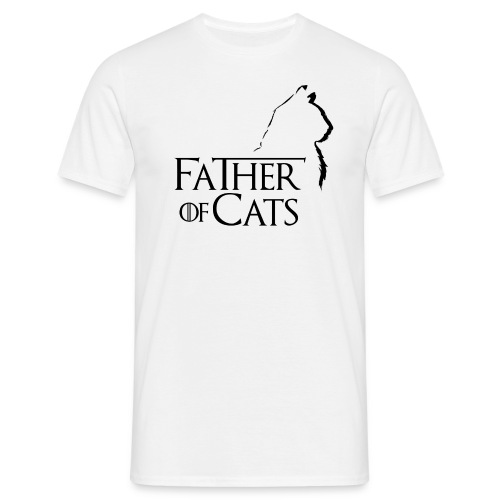 Father of cats - Camiseta hombre