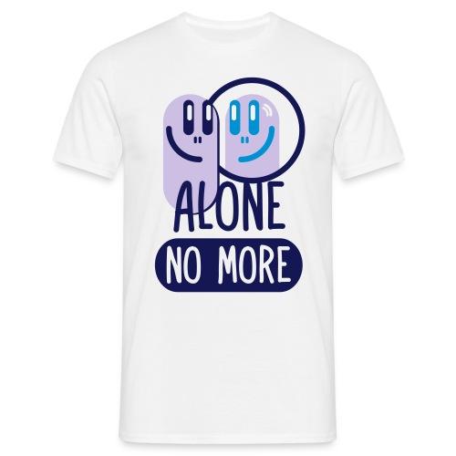 alone no more 3c ai - Men's T-Shirt