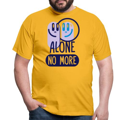 alone no more 3c ai - Men's T-Shirt