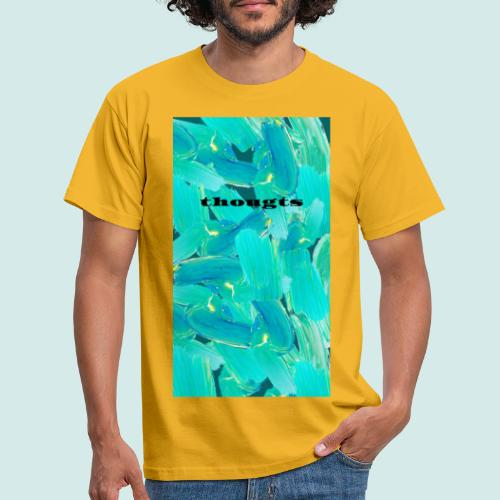 thoughts - Männer T-Shirt