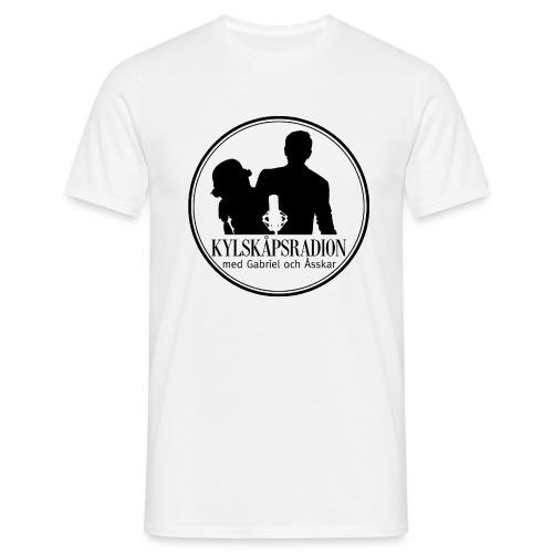 Logga helsvart - T-shirt herr