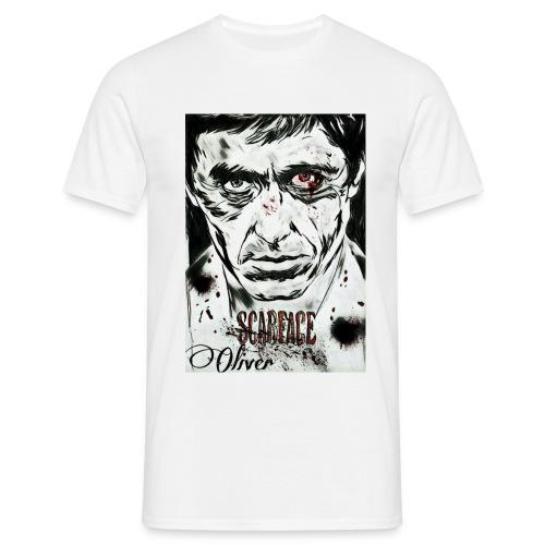 Portrait unique scarface - T-shirt Homme