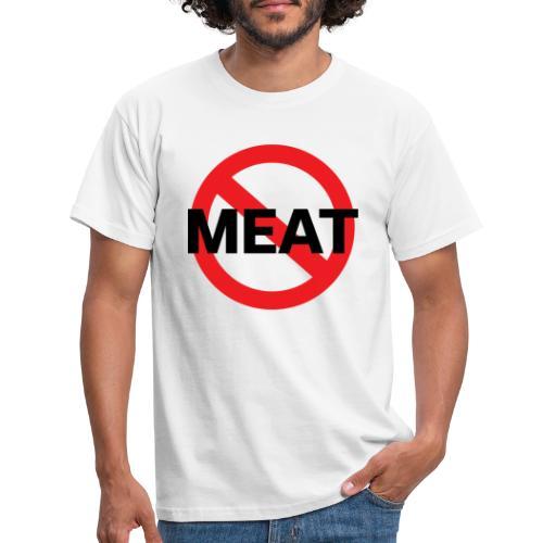 Fuck meat! - T-shirt herr