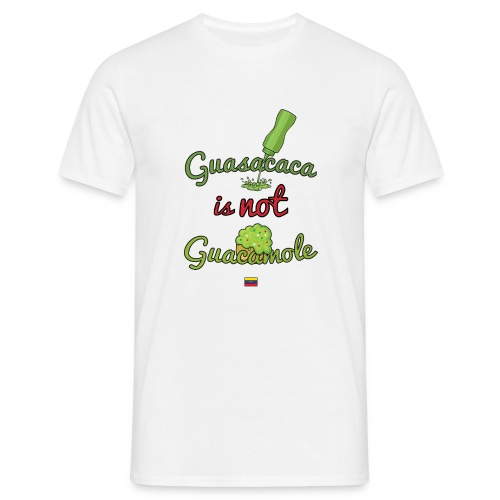 Guasacaca is not Guacamole (with flag) - Camiseta hombre