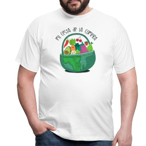 Mi cesta de compra - Camiseta hombre