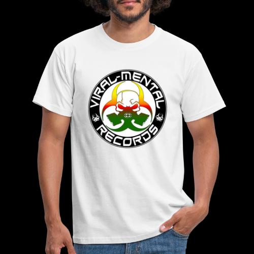 Viral Mental Records Logo - Men's T-Shirt