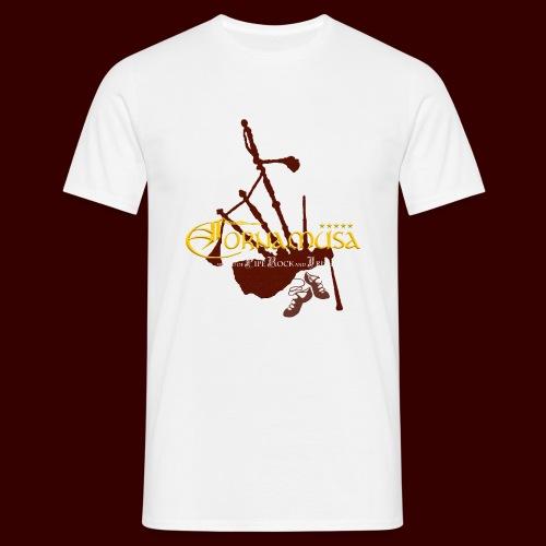Vorderseite T Shirt red - Männer T-Shirt